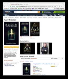Amazon Author_s page