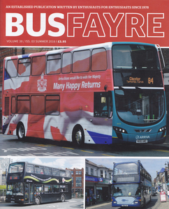 Bus Fayre Summer 2016 cover.