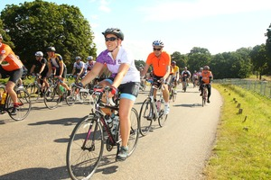 RideLondon for Asthma UK 2016