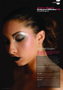 Hair and beauty trends autumn 08