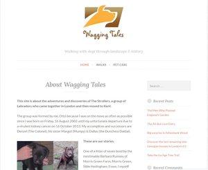 History travel and walking blogging