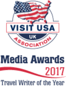 2017 VIsit USA Travel Writer of the Year