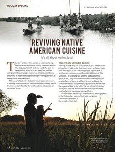 Reviving Native American Cuisine