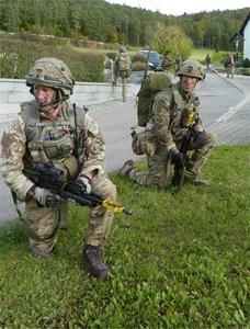 UK troops in Germany
