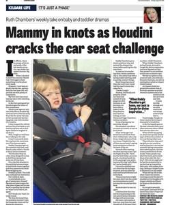 Parenting column in Leinster Leader