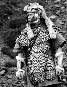Actor on set of Neil Marshalls Centurion