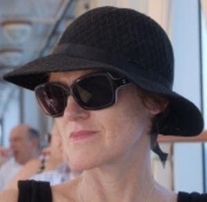 Viv in black hat