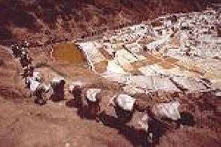 Salines de Maras - Perou