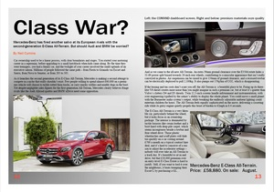 A review of the new Mercedes E-Class