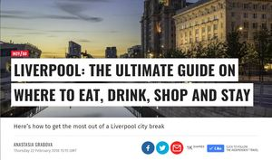 Liverpool guide for The Independent