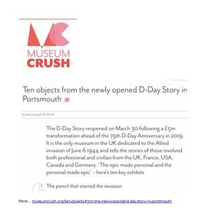Museum Crush