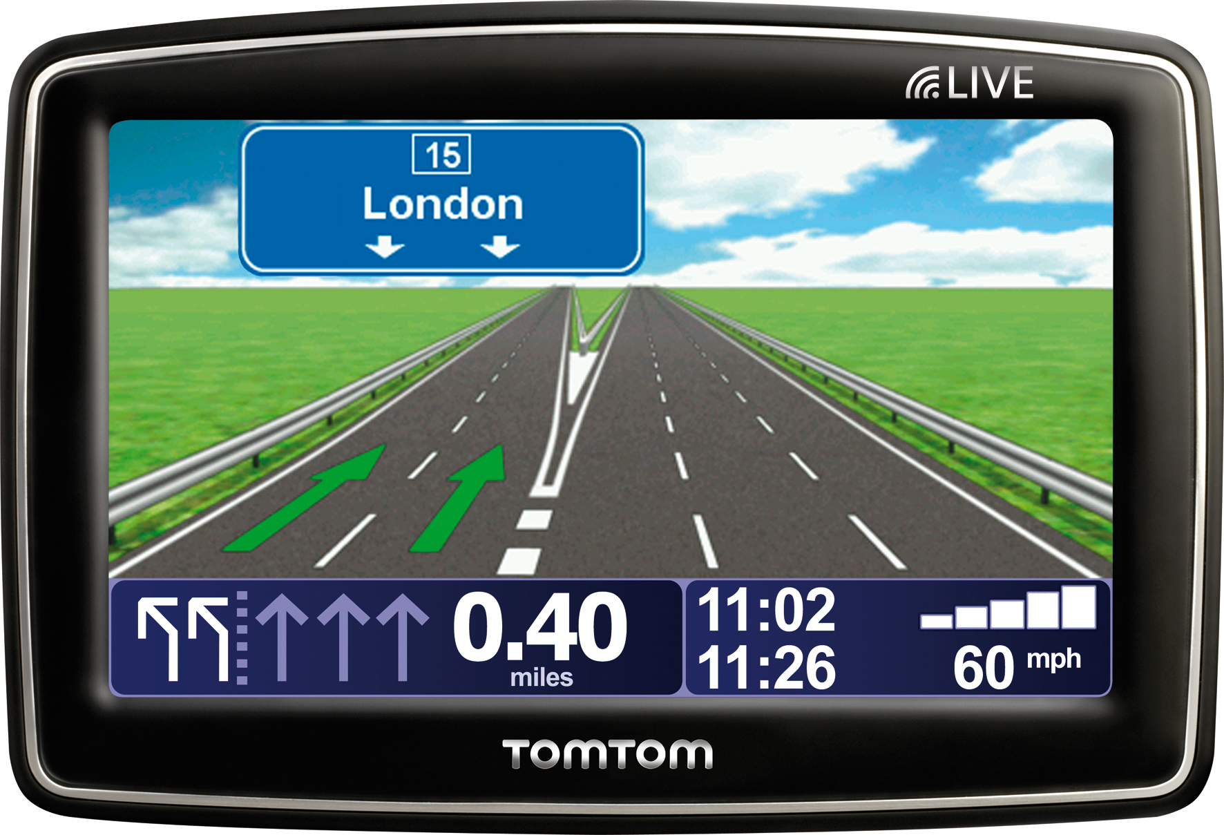 TomTom brings LIVE Services to mid-range satellite