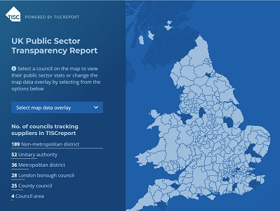 Modern Slavery Act: TISCreport UK 2018 City Transparency Map Goes Live
