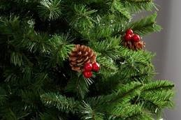 e0598c5882eff Balmoral Berry and Cone Pre-lit 6ft Tree ...