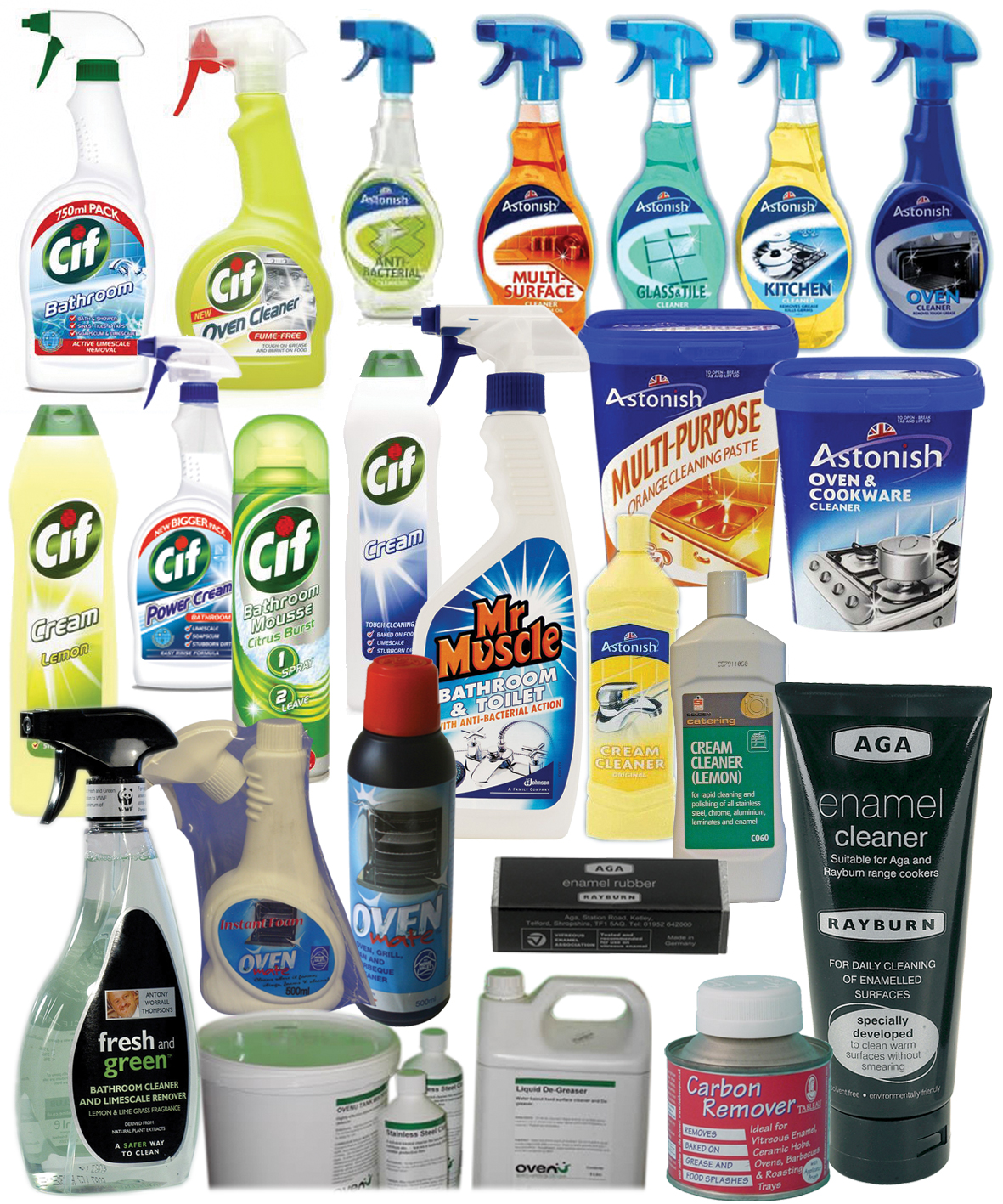 Vea Roved Enamel Cleaning Products