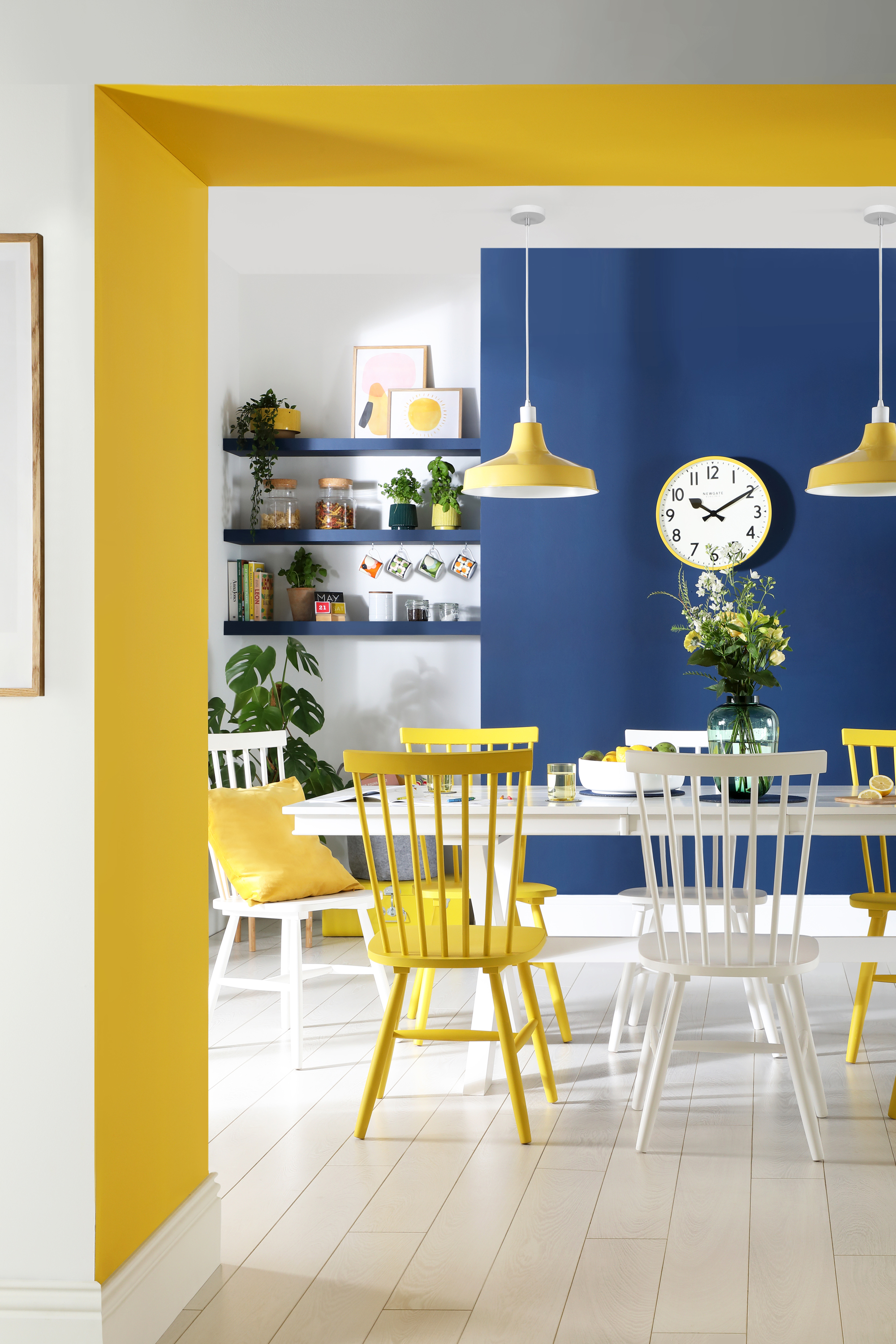 4 Yellow Home Decor Tips For Spring 2020