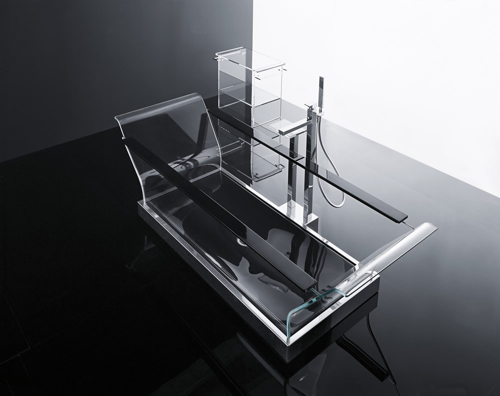 Glass bathing clearly stunning - Vasche da bagno glass ...