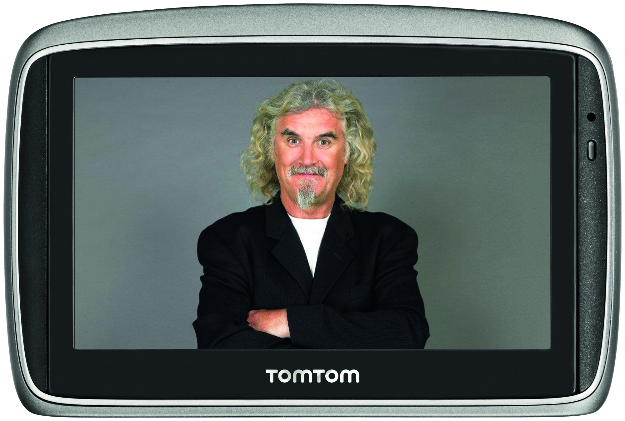 Billy Connolly Takes The High Road With TomTom Sat Nav