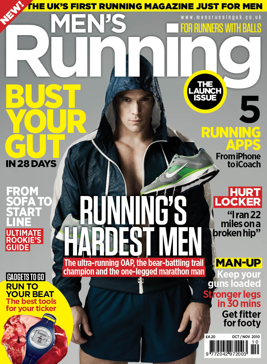 Wild bunch media launches men 39 s running for Pioneer woman magazine second issue