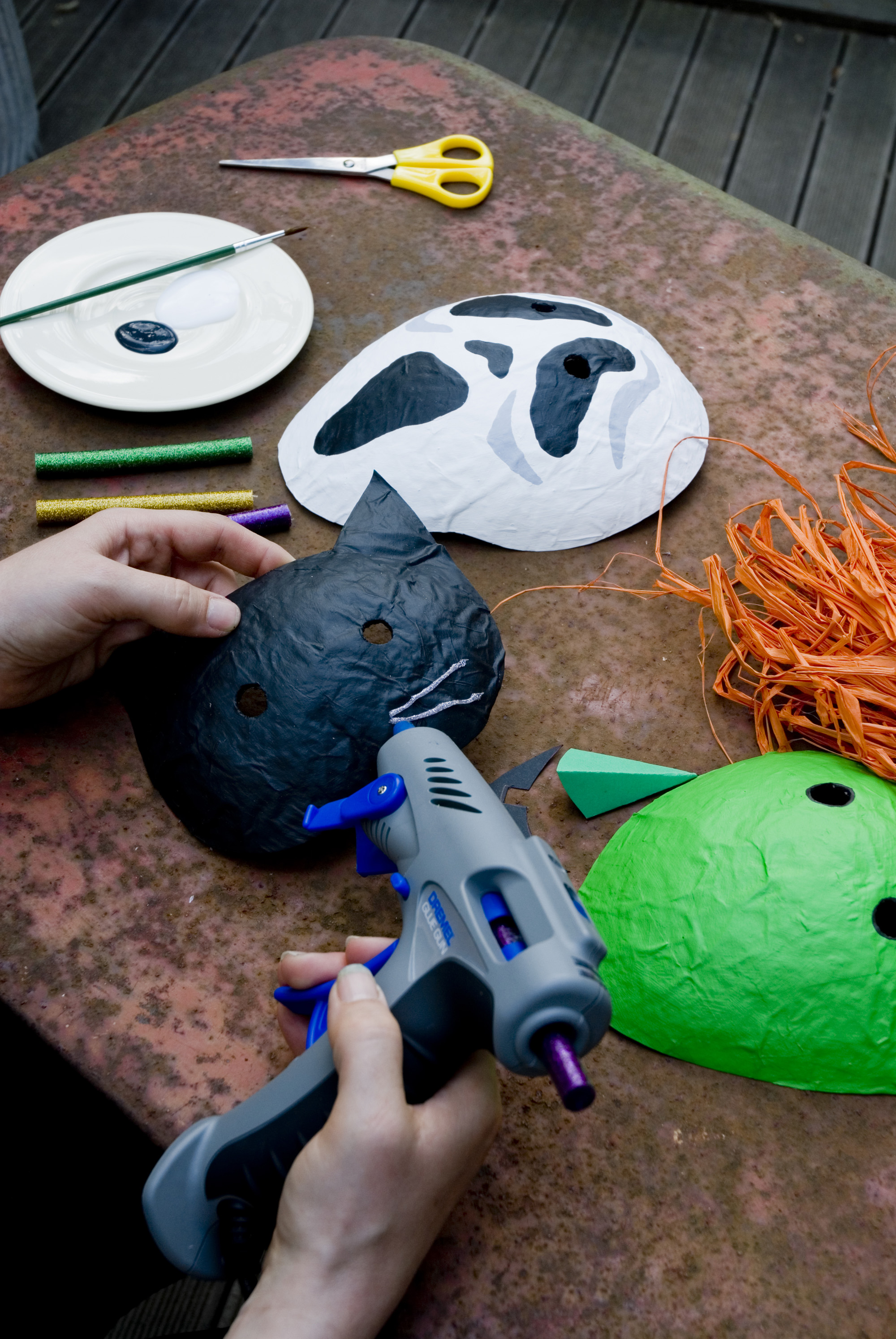 How To Make A Scary Halloween Mask