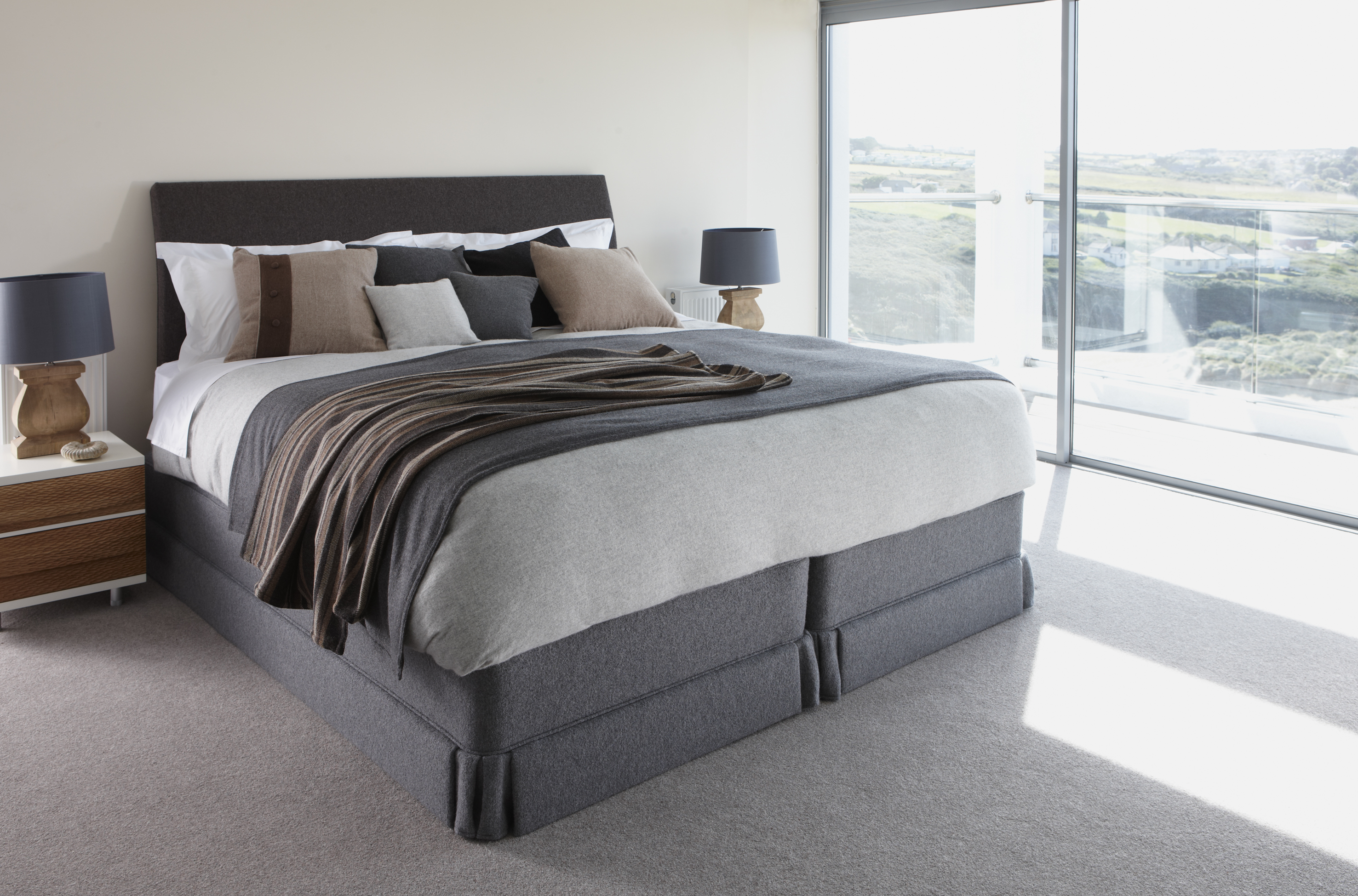 Vi spring introduces exclusive all wool bed the lerwick for Exclusive beds