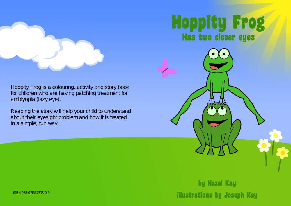 Children S Book Front And Back Cover : Frogs help treat children s eyesight