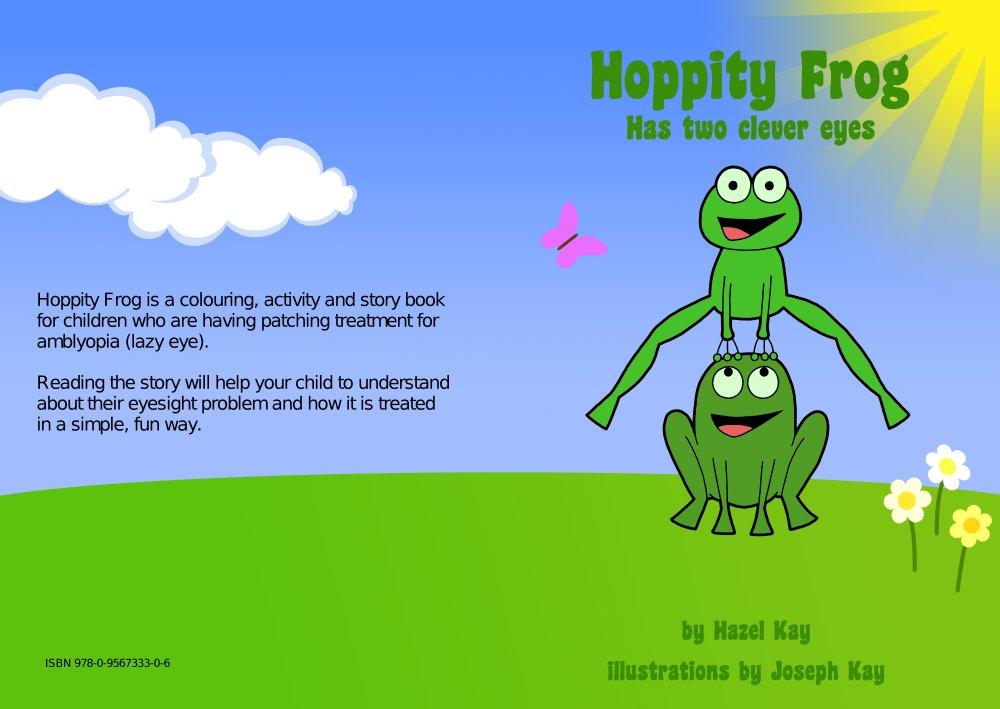 Kids Book Front Cover : Frogs help treat children s eyesight