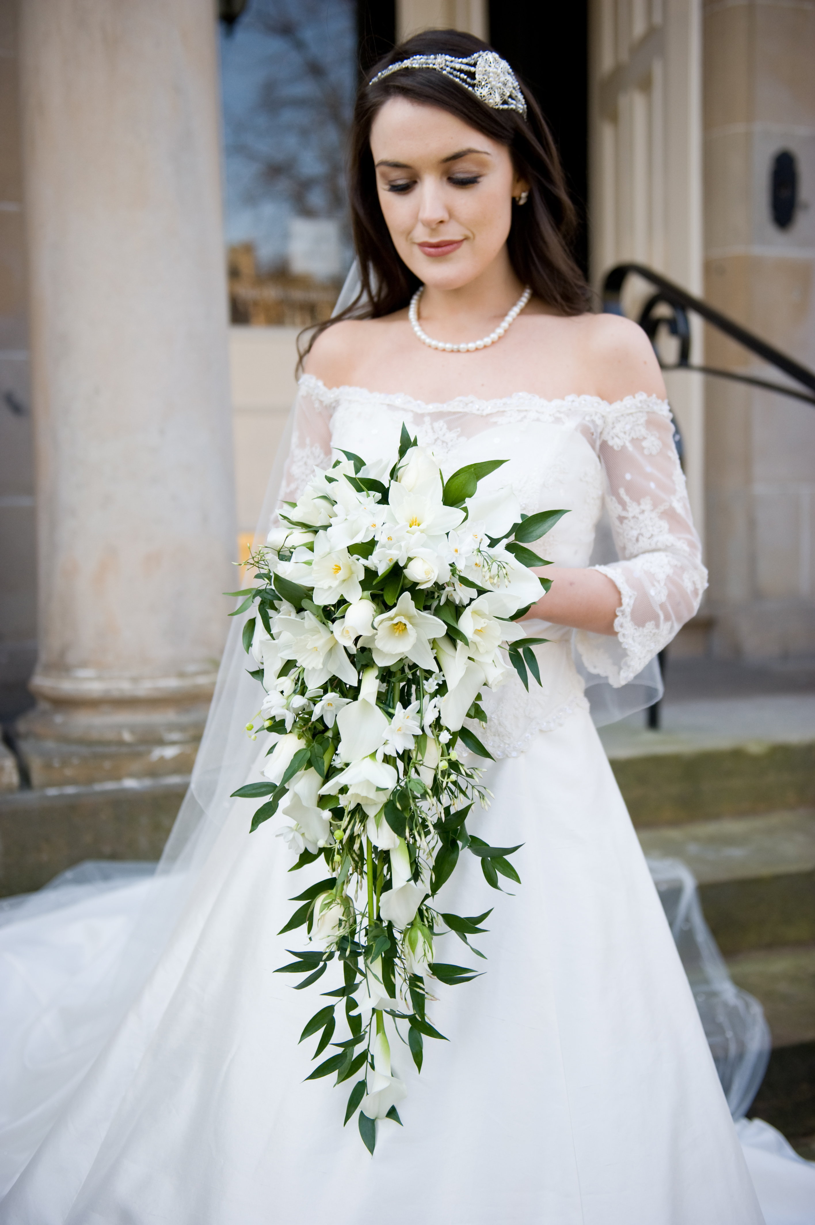 Celebrity weddings flowers