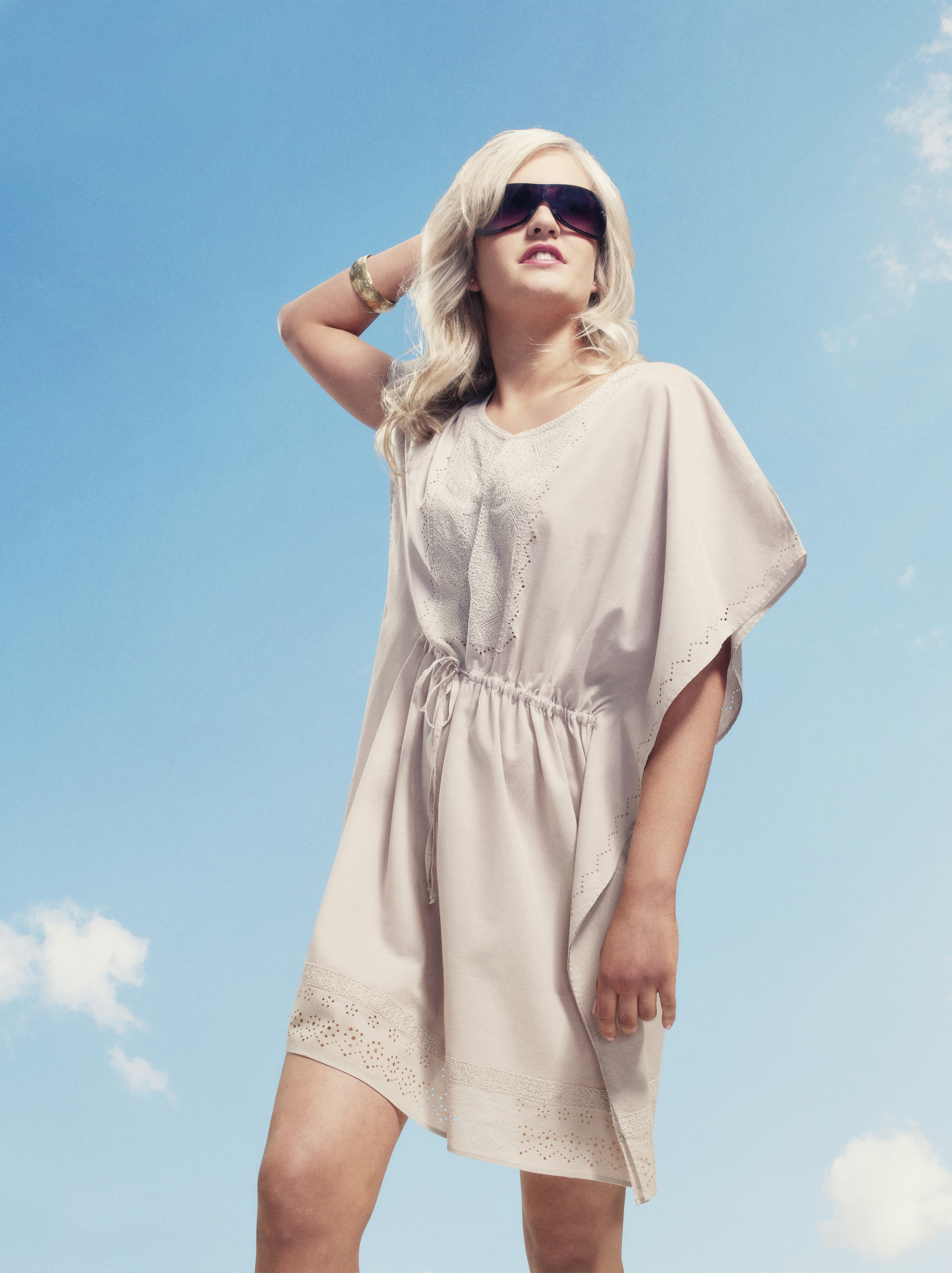 Dress for the beach in a stylish cover-up…