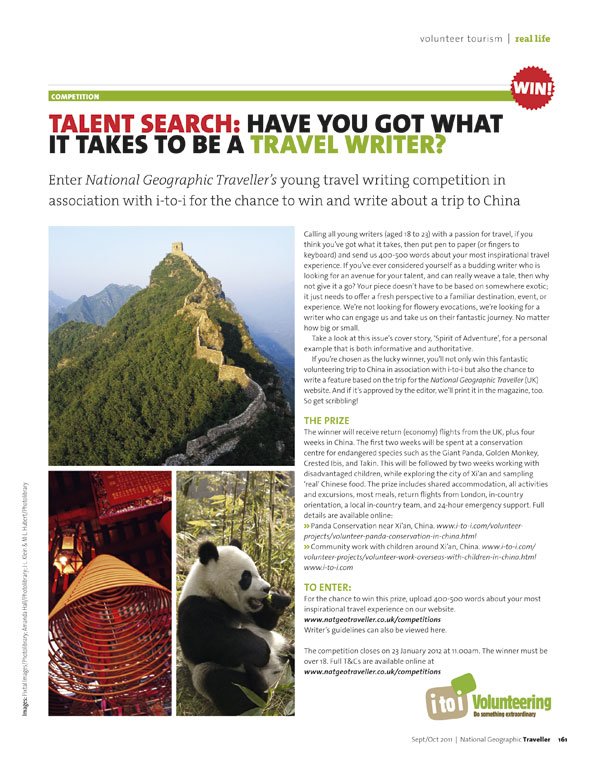 travel writing contest Award-winning literary travel magazine nowhere is accepting submissions for the spring 2018 travel-writing contest we are looking for young, old, novice and veteran.
