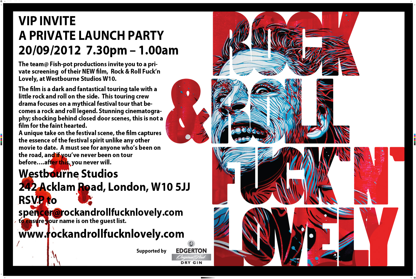 Invite to new cult movie screening/VIP party 20th ...
