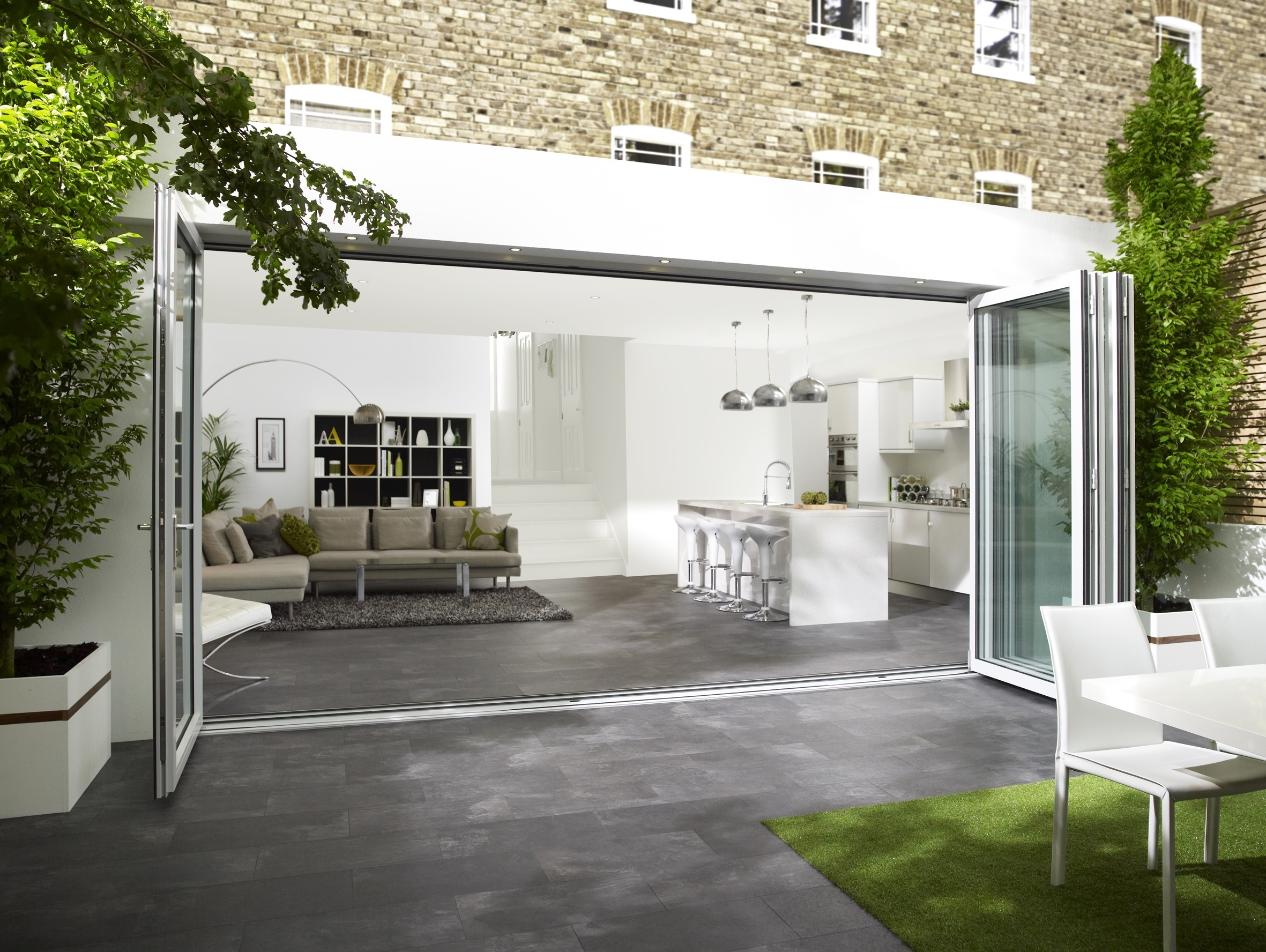 C1 sliding doors bring the outside in & Centor\u0027s next-generation folding doors offer greater versatility and ...