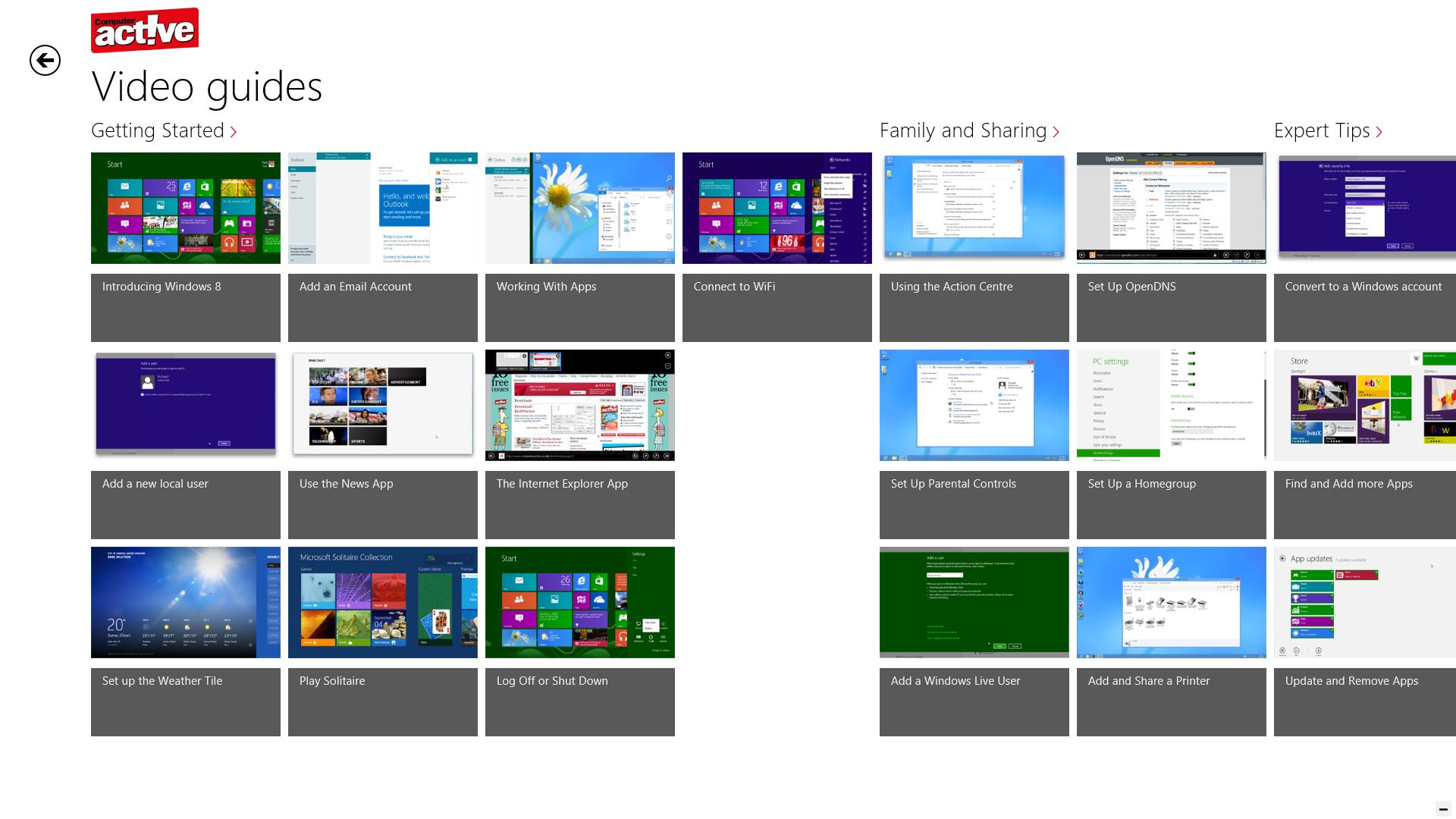 windows 8 app 2017