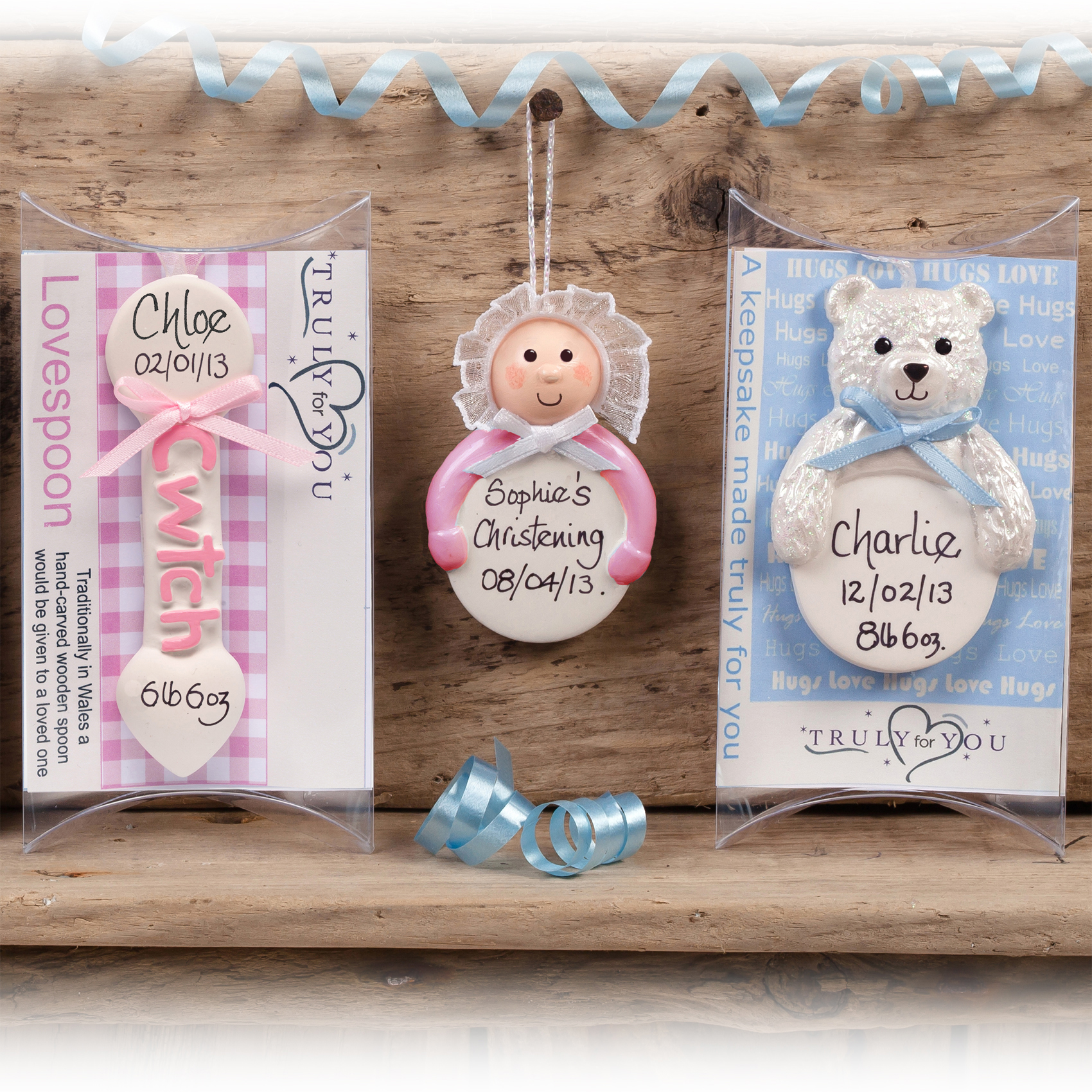 Get ready for the baby boom with beautiful gifts personalised truly personalised new baby gift christening negle Choice Image