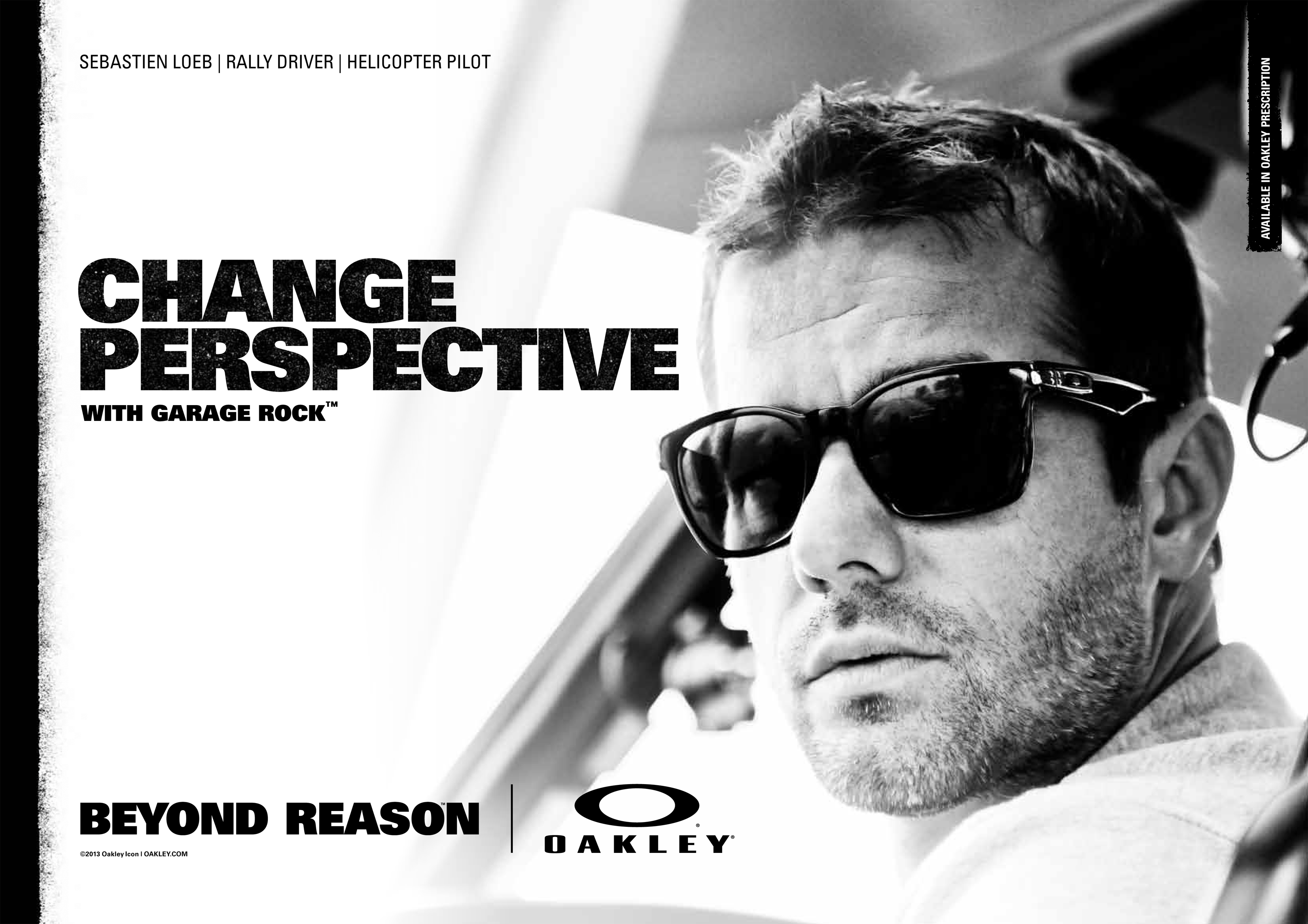18765946968 OAKLEY INVITES YOU TO CHANGE PERSPECTIVE