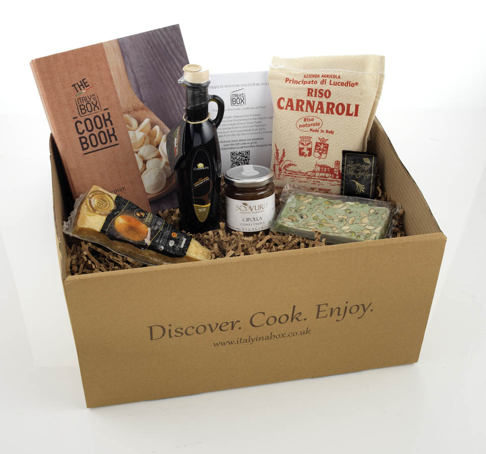 New Food Delivery Box Italy In A Box Delivers