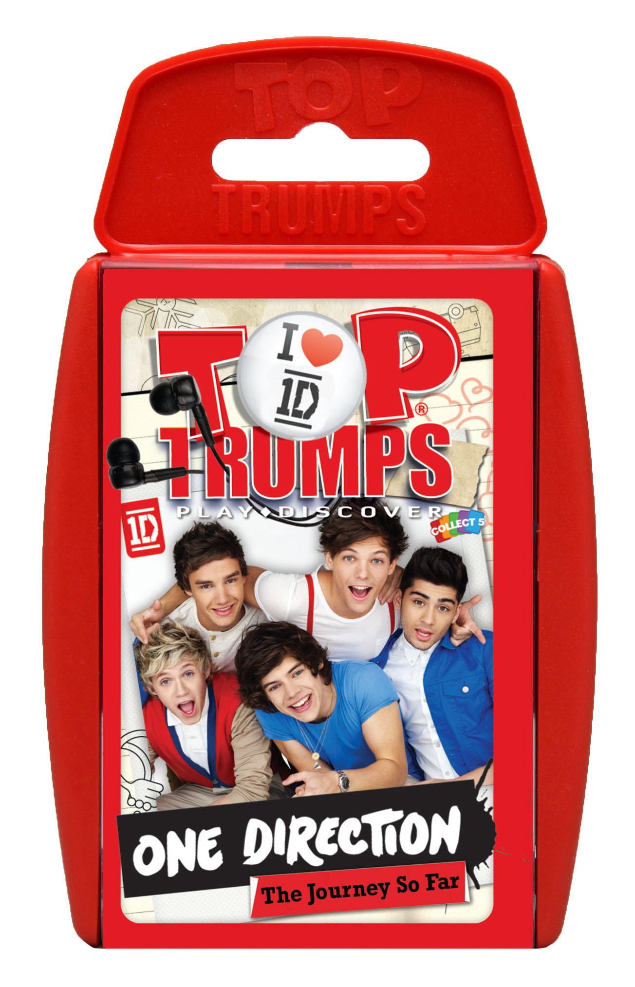 No christmas stocking is complete without a pack of top trumps one direction top trumps solutioingenieria Choice Image