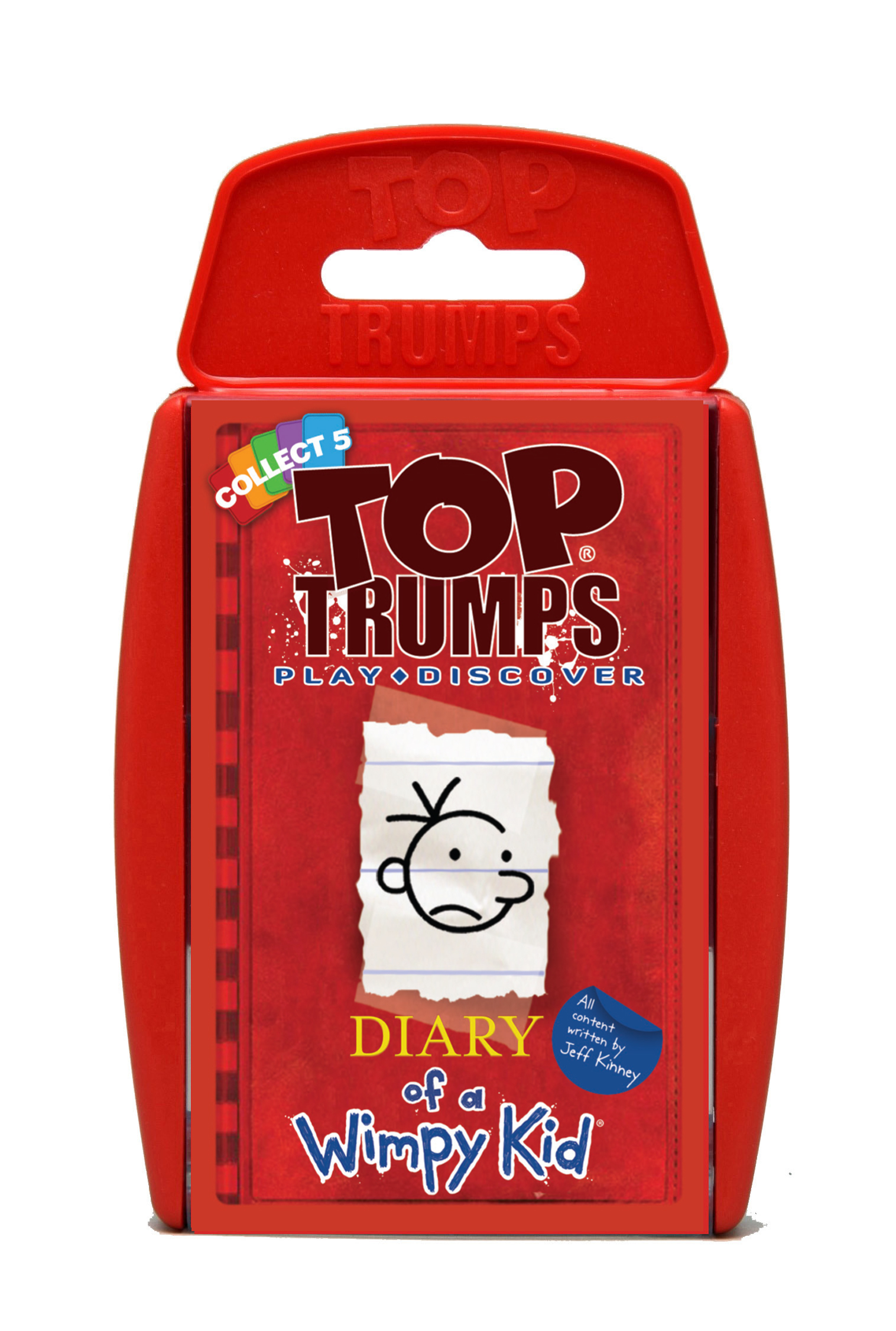 No christmas stocking is complete without a pack of top trumps diary of a wimpy kid top trumps solutioingenieria Images