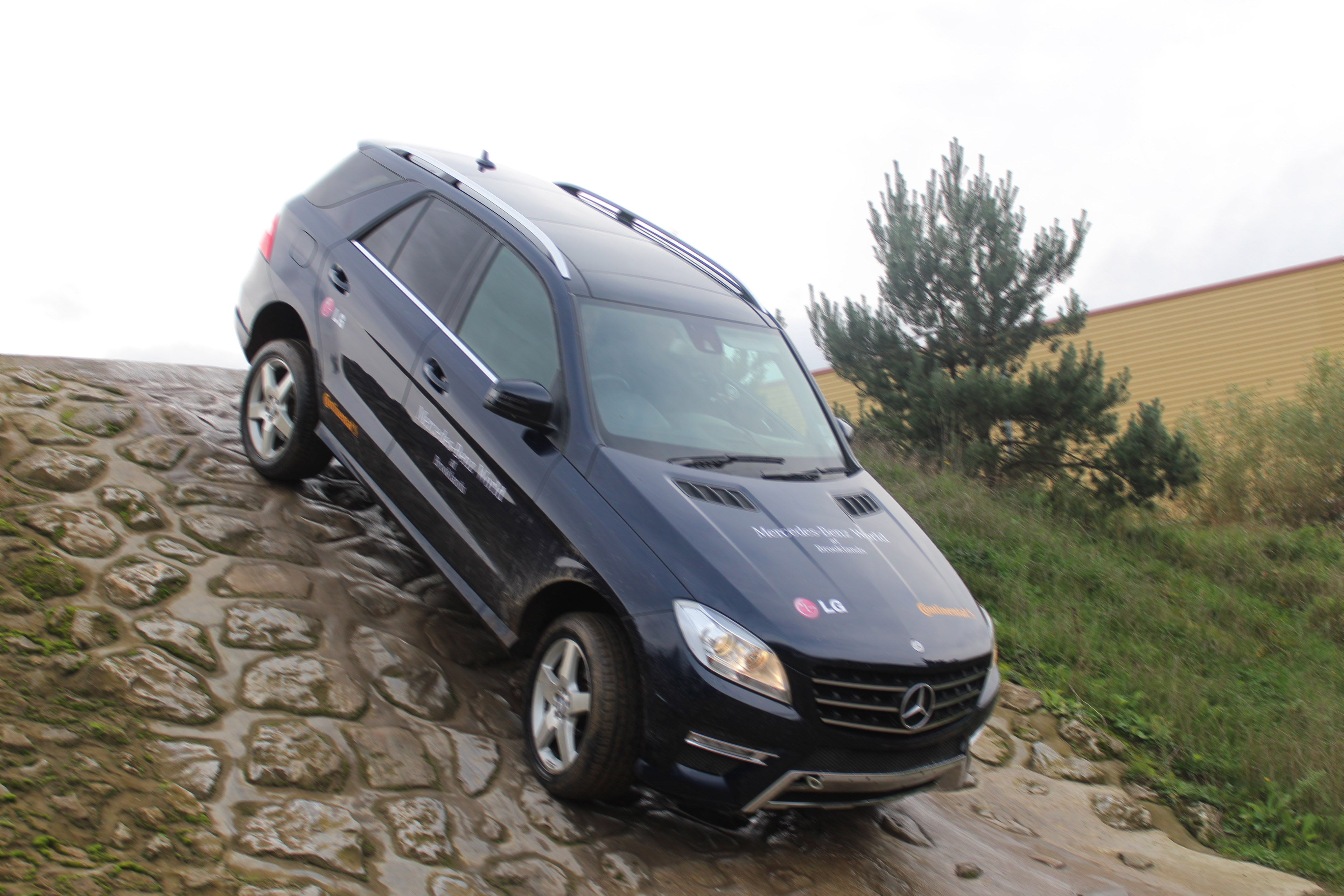 Gamma goes off road to drive business for it managers for Mercedes benz worldwide
