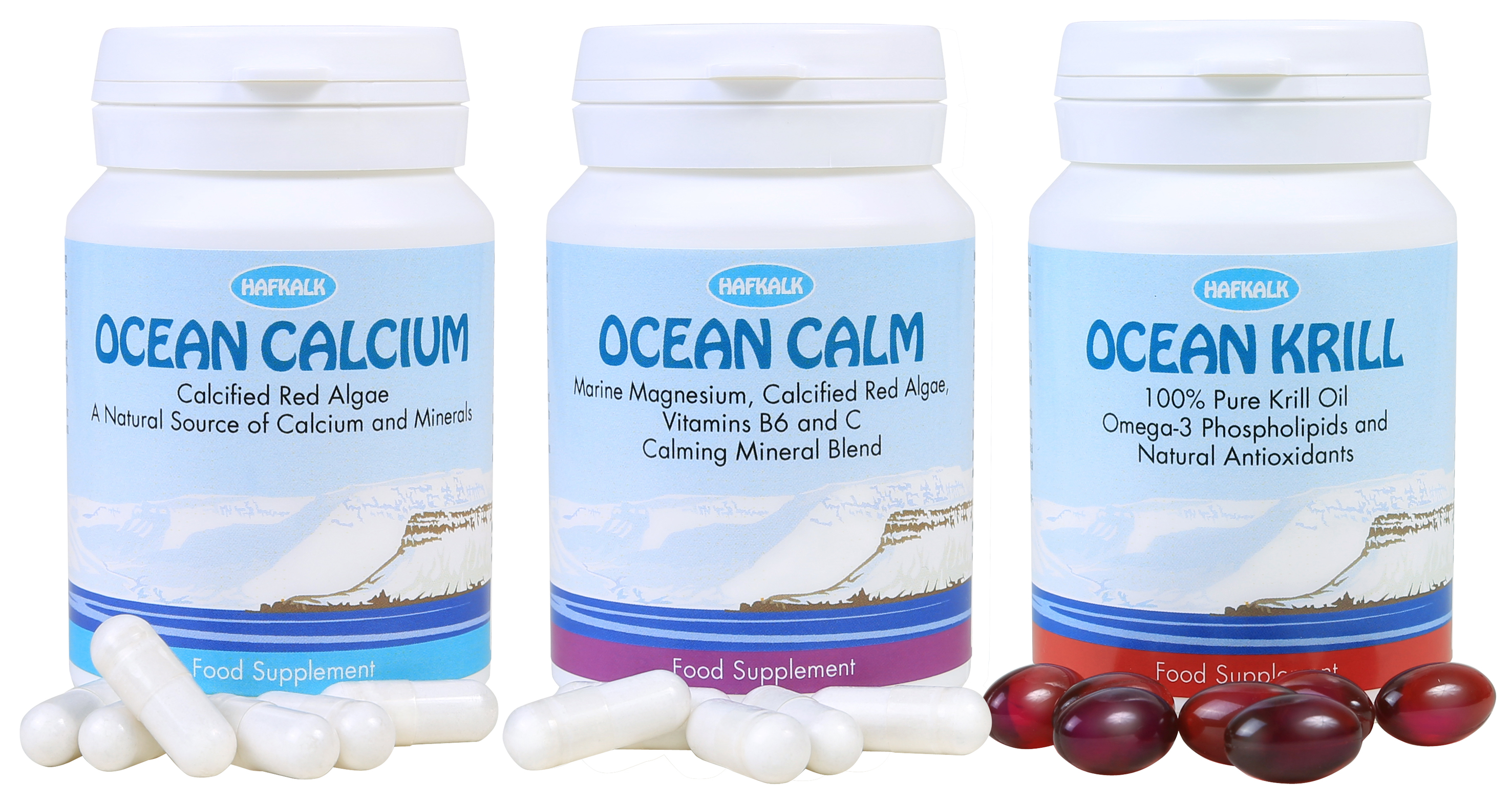 Oceanic silica from red algae benefits