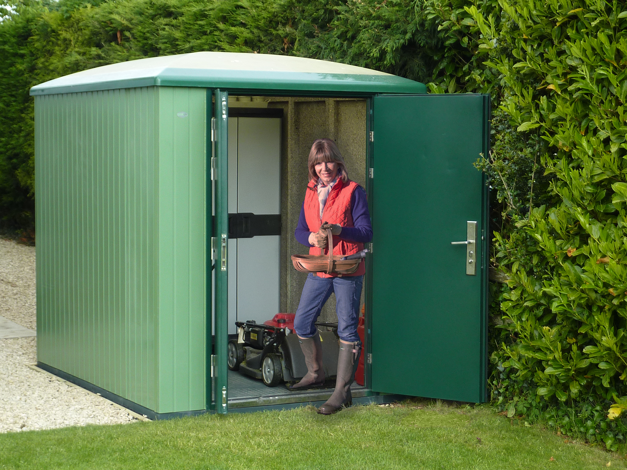 storage x today product free shipping a galvanized garden steel shed home sheds buy arrow overstock woodbridge
