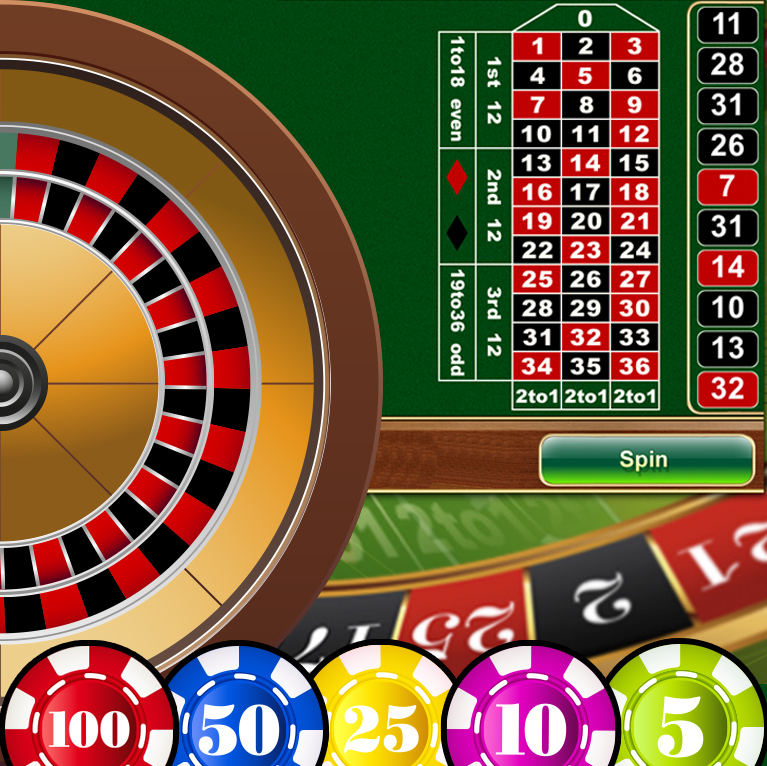 Quick spin online roulette
