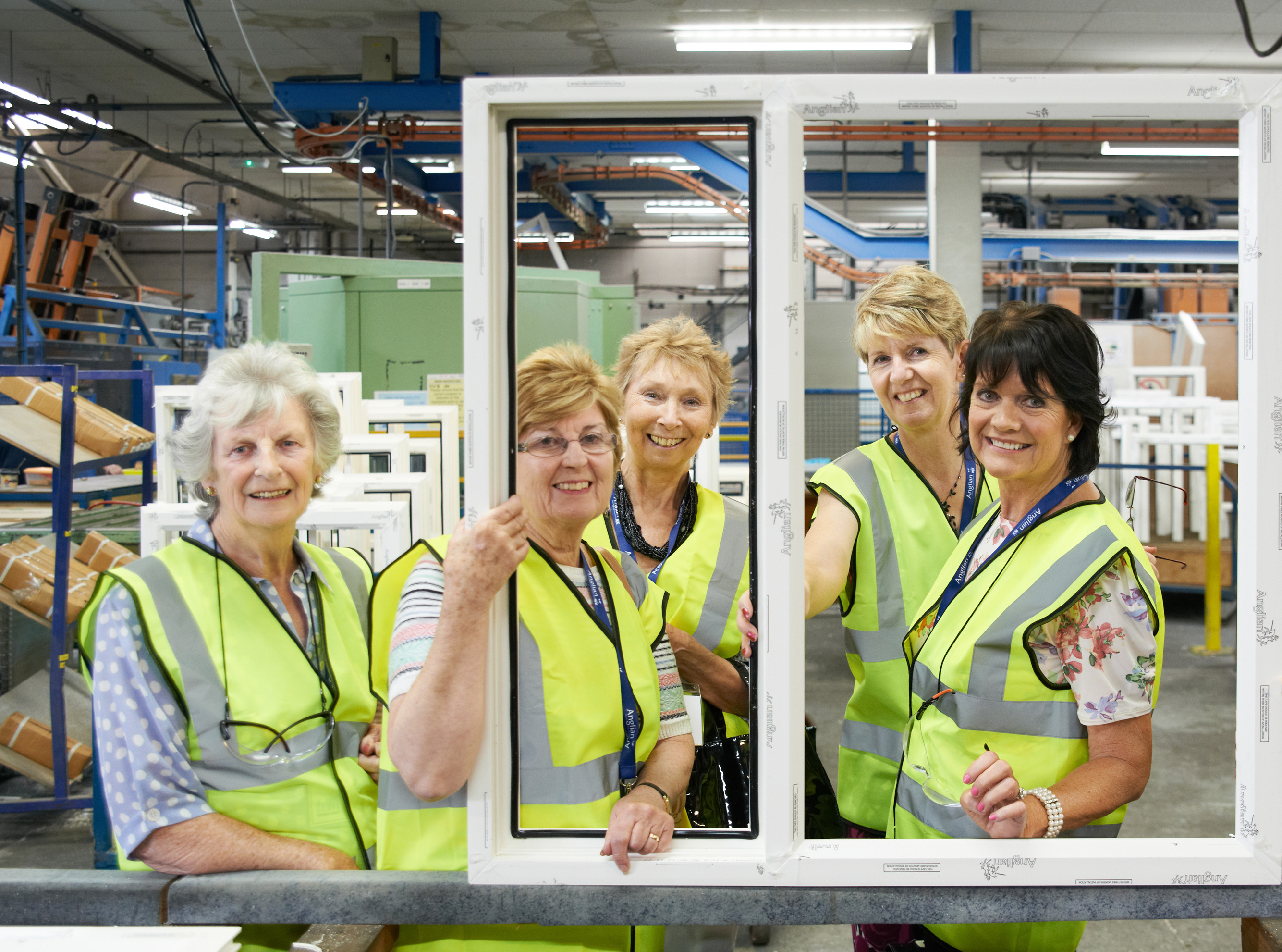 Wi Members Treated To Vip Day With Anglian Home Improvements
