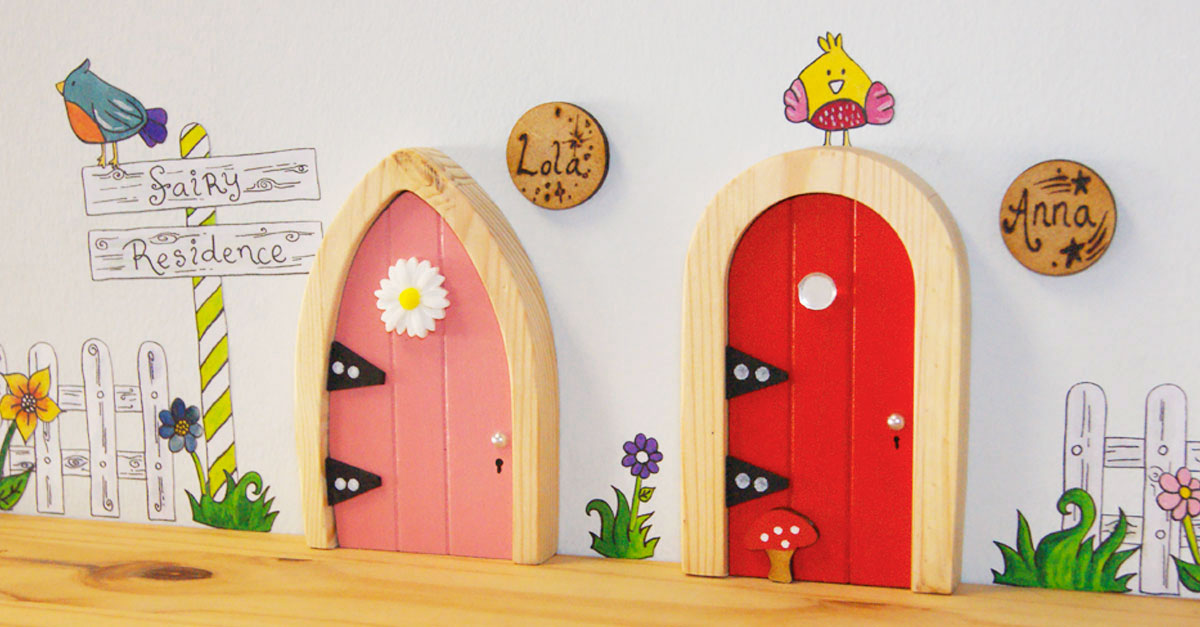 The irish fairy door company wings in to save uk fairies for Door companies