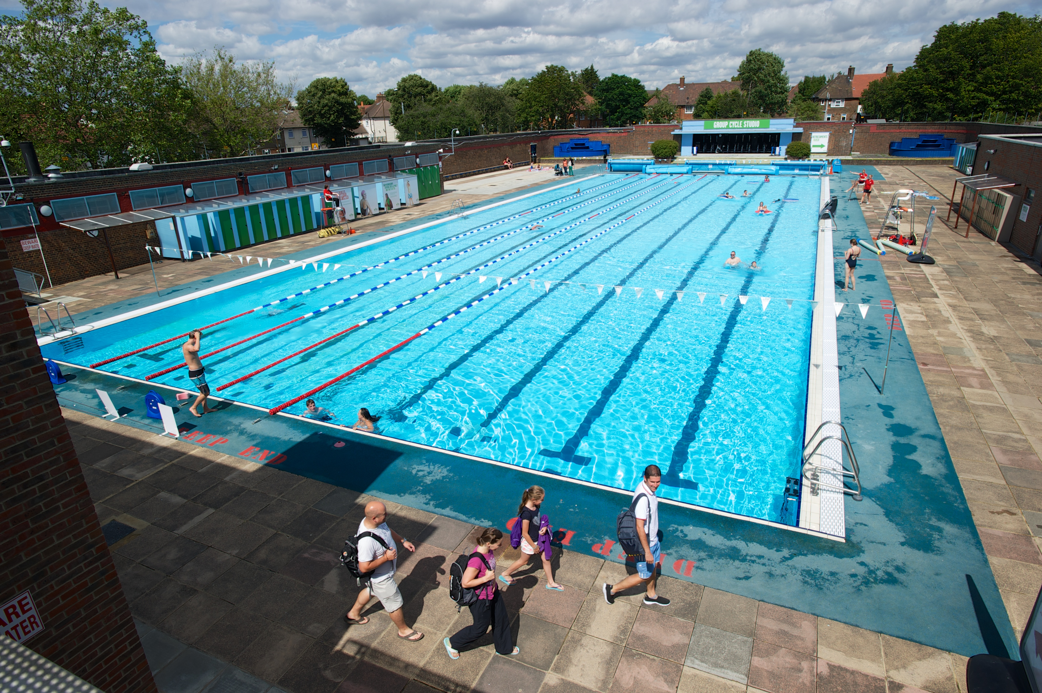 Charlton Lido Lifestyle Club Refresh New Cafe Reopened Members Sun Terrace Outdoor Pool