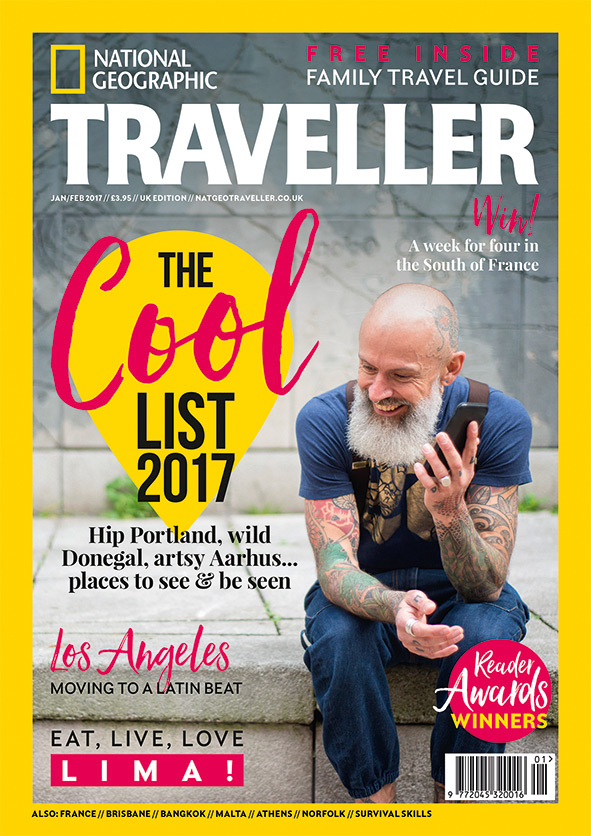 Fabuleux National Geographic Traveller (UK) reveals The Cool List: 17 must  CE36