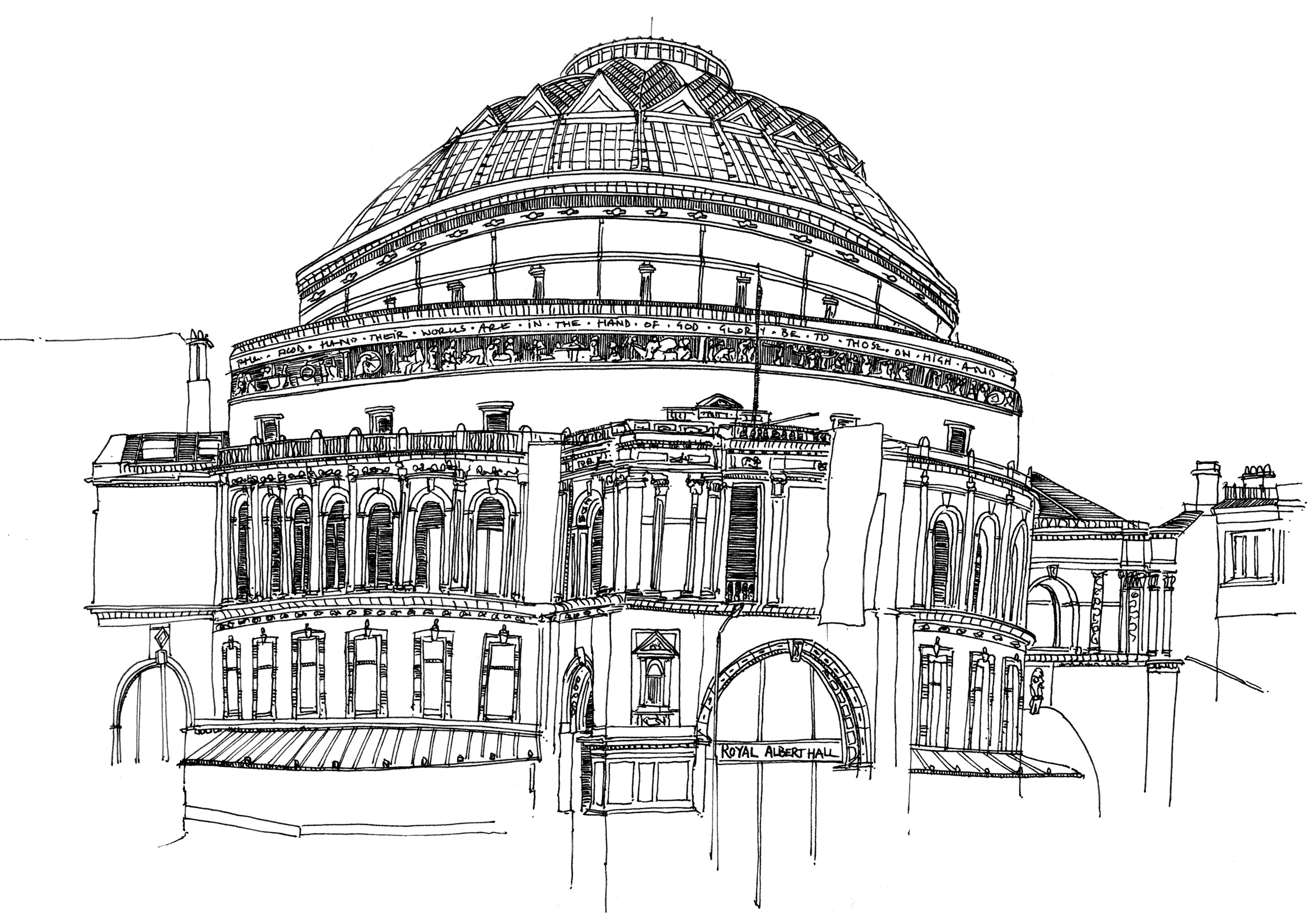 Line Drawing London : 'lines of london a debut exhibition edd horder s