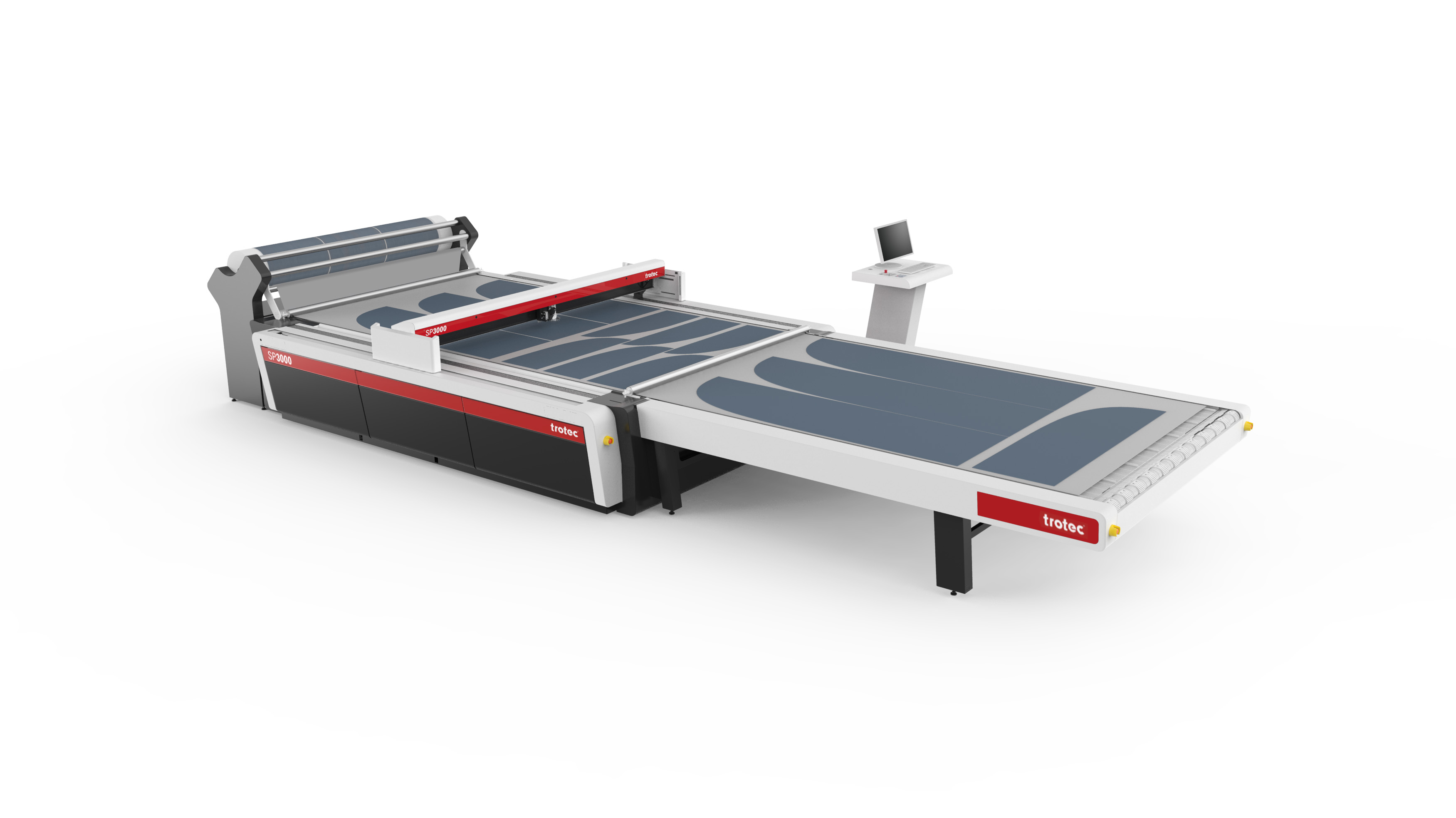 Trotec Add Roll Material Extension To Large Format Laser