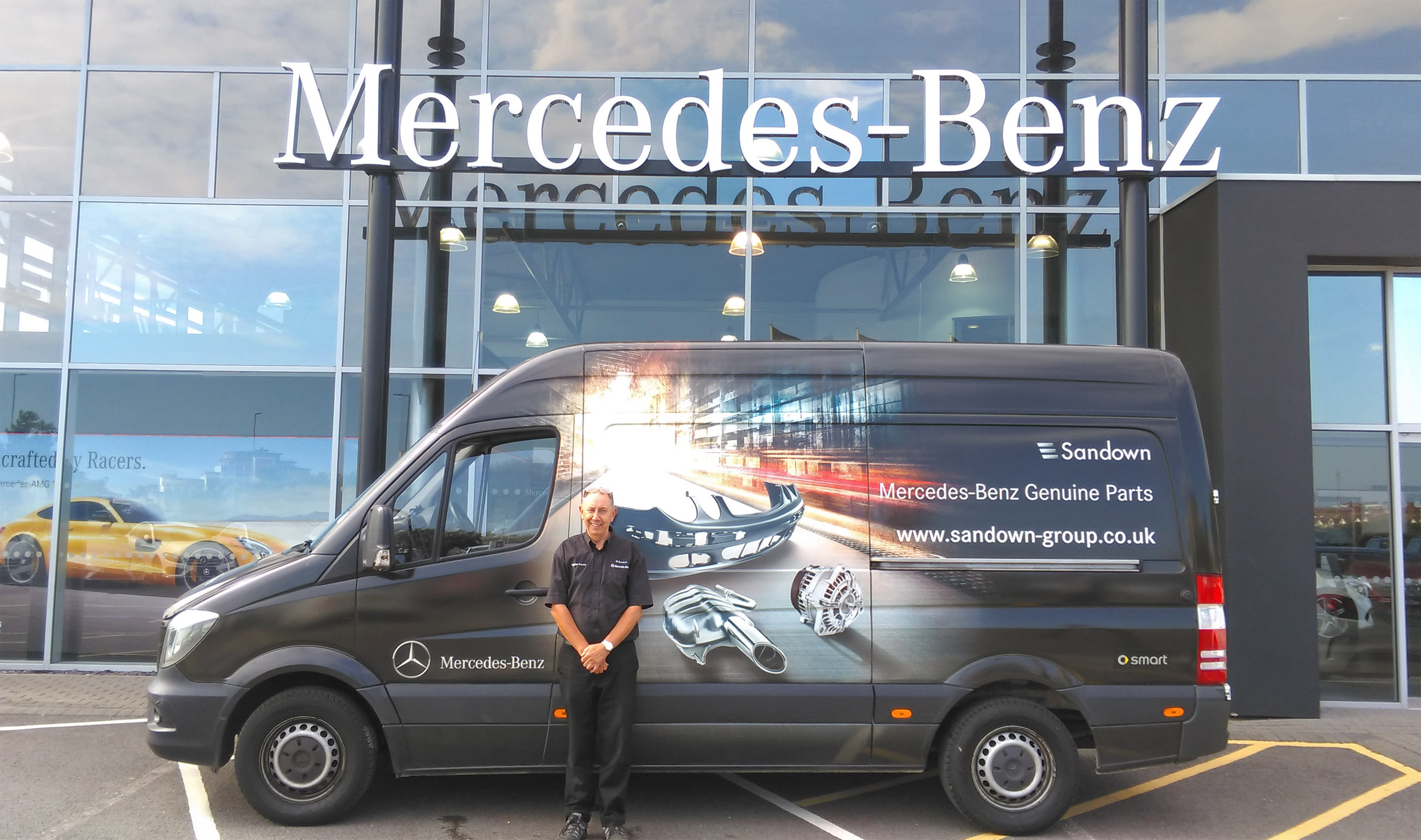 Merc Parts Delivered Smart With Maxoptra