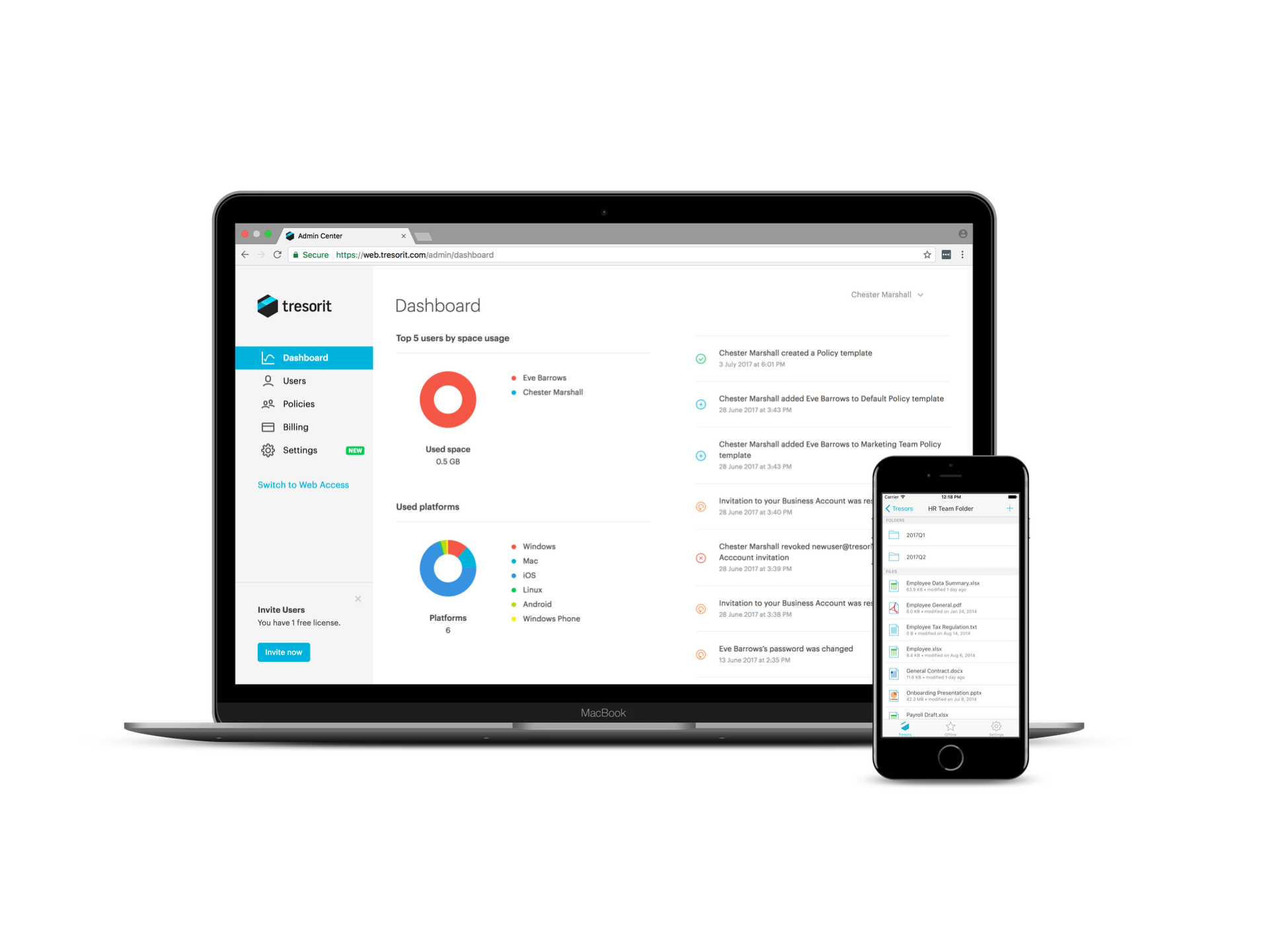 Tresorit rolls out new business features to help companies keep